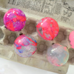 How to make marbles christmas ornaments with nail polish