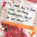 A Reggio Thanksgiving