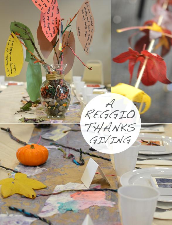 A Reggio Thanksgiving Feast