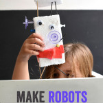 How to make a robot with tinker trays