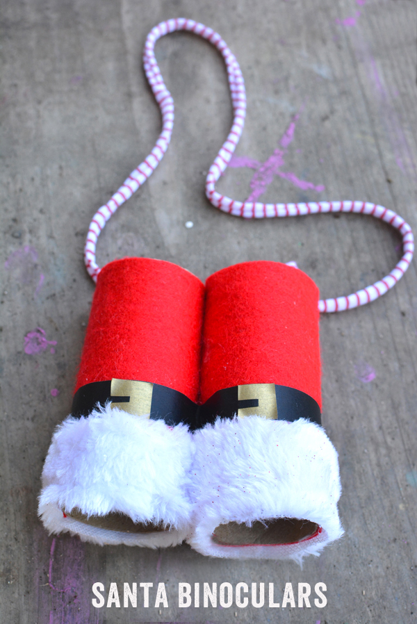 DIY Santa Binoculars - Where is that guy?