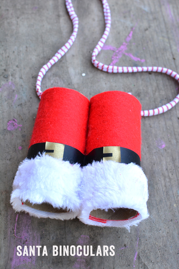 craft ideas for toddlers christmas diy santa binoculars where is that meri cherry 6256