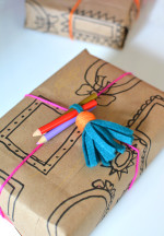 DIY Gift Wrapping Ideas – Picture Frame Wrapping Paper