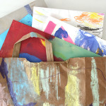 Make Recycled Art Portfolios for Kids - Finally a way to store all your child's art!
