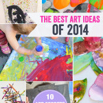 The best art ideas and art projects for kids of 2014