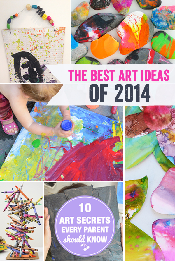 The Best Art Ideas and Art Projects of 2014
