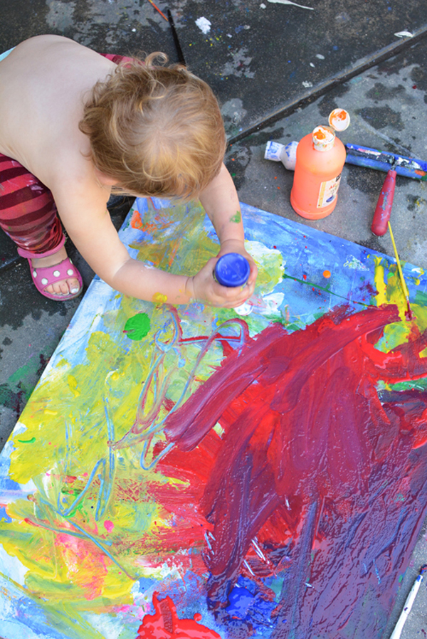 The best art ideas and art projects of 2014 meri cherry Fun painting ideas for toddlers