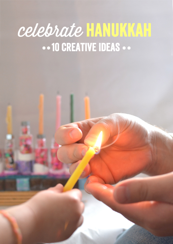 10 Creative Ways to Celebrate Hanukkah - Hanukkah Crafts for Kids