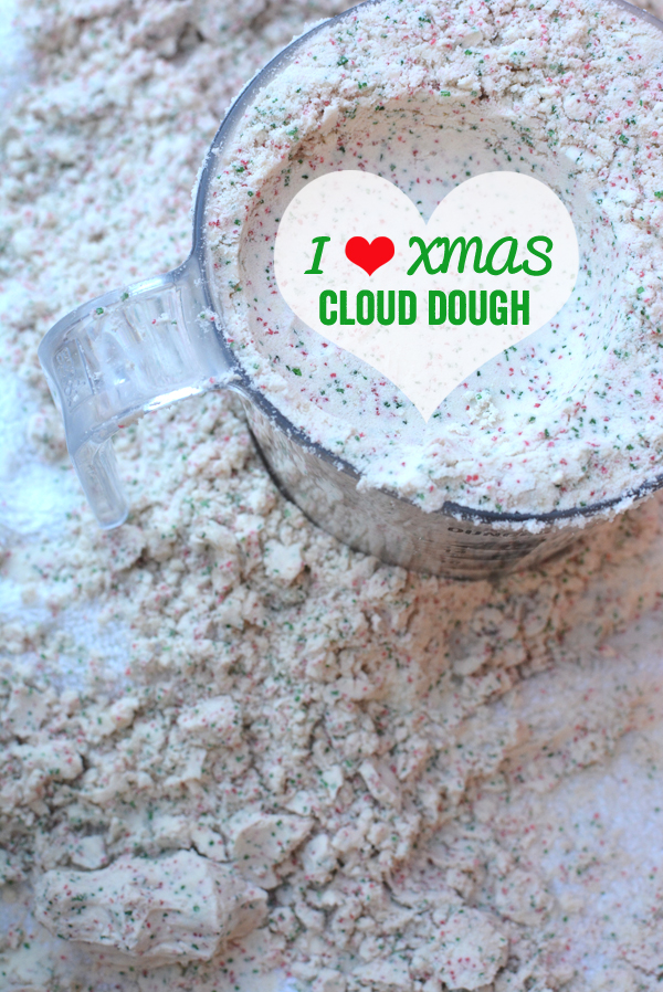 Christmas Cloud Dough