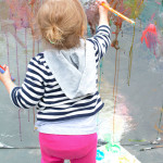 Painting Wall for Toddlers - The best art ideas and art projects for kids of 2014