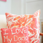 Resist Art Pillows - The best art ideas and art projects for kids of 2014