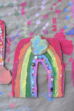 Recycled Hanging Rainbows