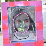 self portrait shadow boxes