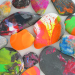 Spin Art Rocks - The best art ideas and art projects for kids of 2014