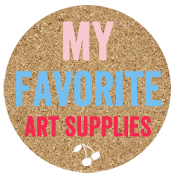 My favorite art supplies for kids