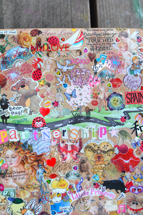 Be Mine Vision Board - Find Your True Love