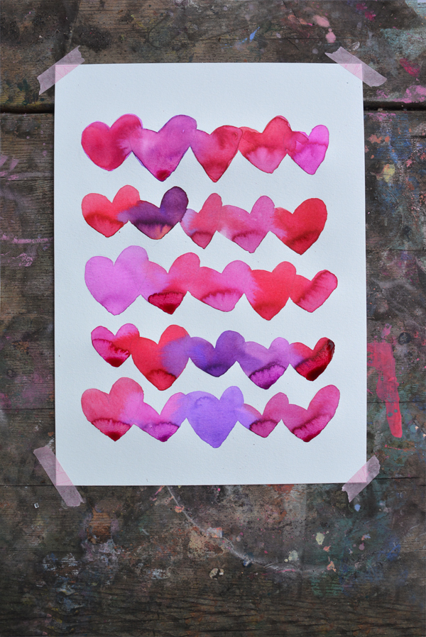 Bleeding Hearts - Art Projects for Kids