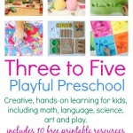 Three to Five Playful Preschool ebook
