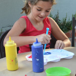How to Mix Paints with Kids - Step by Step