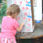 Make a recycled sewing box - sewing basics for kids