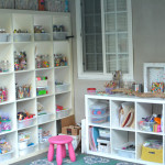 Art Studio and Backyard Art Space for Kids - Tips for organizing and making your own