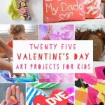25 Valentine's Day Art Projects for kids