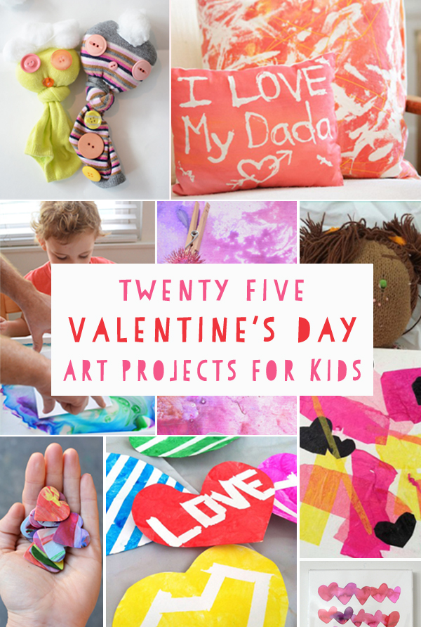 25 Valentine S Day Art Projects For Kids Meri Cherry