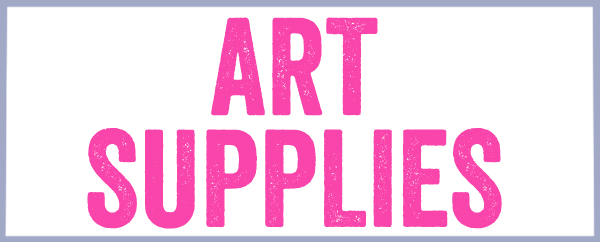"Beginners Art Supply List for ""Non Crafty Moms"""