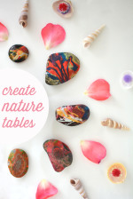 Make a Nature Table – Inspired by The Artful Year Book