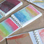 Mini Art Books for Kids - These are cheap and easy to make. They work great for all kinds of art work with kids.