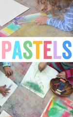 Working with Pastels – Easy Process Art for Kids