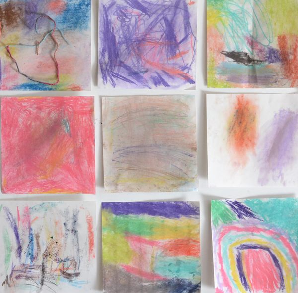 Working with Pastels - Easy Process Art for Kids