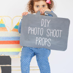 DIY Photo Shoot Props for Kid's Photo Shoot