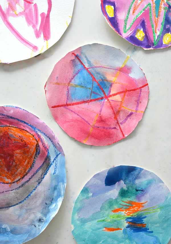 Simple Circle Art for Kids