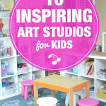 These art studios are amazing. I could play in here all day!
