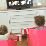 How cute are these diy movie seat?? I love these!