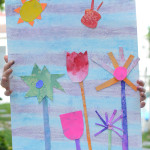 Make a Spring Garden Glyph - Steam Project for kids