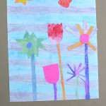 Make a Spring Garden Glyph - Steam Project for kids