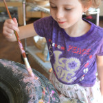 Tire Painting is so much fun! Nothing like reinventing the wheel with kids!