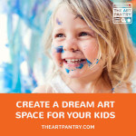 Best resource if you want to create an art studio for your kids. This is phenomenal!