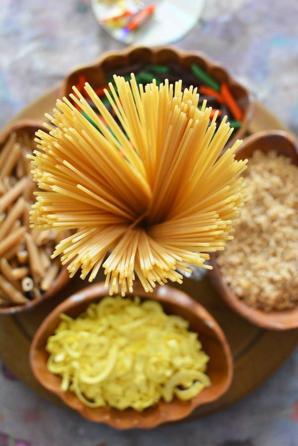 Pasta tinkering tray