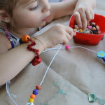 I love introducing young children to interesting materials like wire. This is a simple and really engaging art activity for kids. Limitless possibilities too.