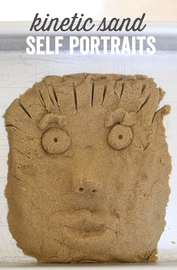 Kinetic Sand Self Portraits - Meri Cherry