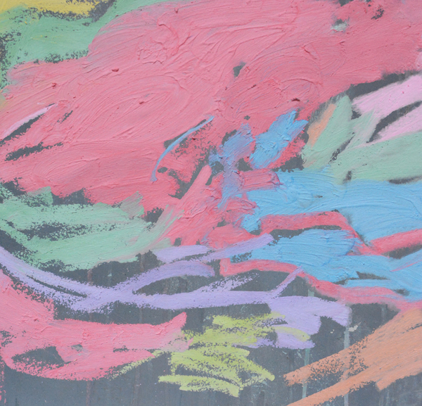 Gorgeous Chalk Paintings by Toddlers!