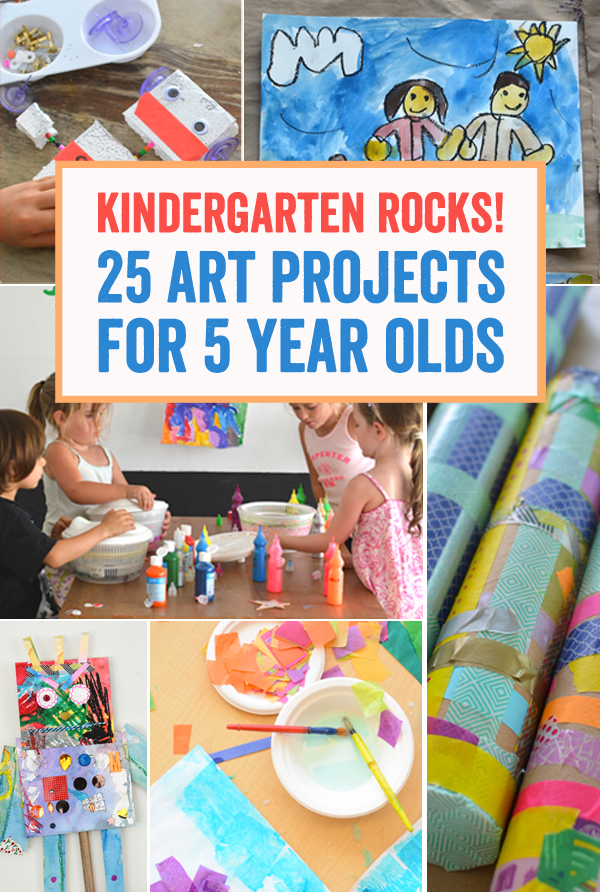 Kindergarten Rocks 25 Art Projects For 5 Year Olds Meri Cherry