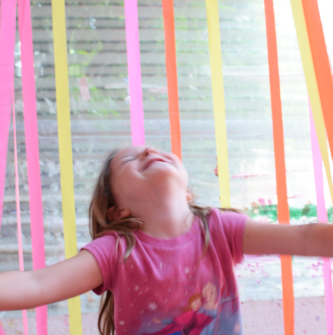 The coolest sensory experience for toddlers!