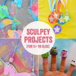 Kids LOVE sculpey! Such a fun art project.