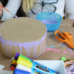 great art camp art project for tweens. This is so much fun!