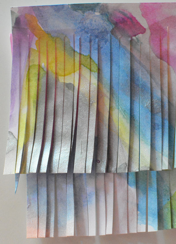 Turn your children's artwork into gorgeous paper tassels