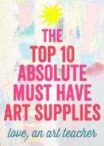 Favorite Art Supplies for Kids